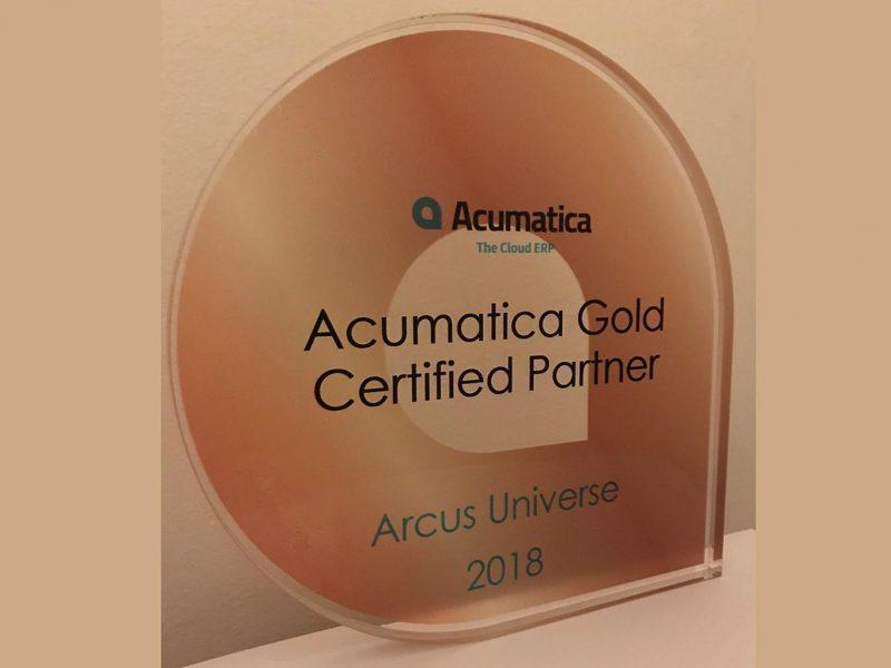 Acumatica Gold Certified Partner UK