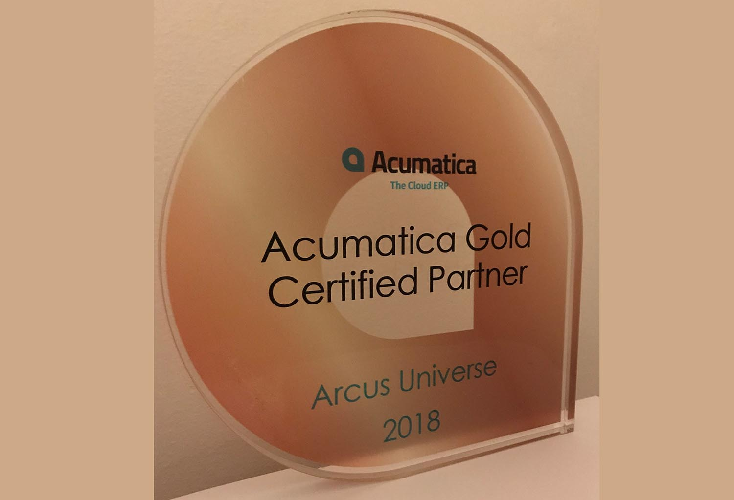 Acumatica Gold Certified Partner UK