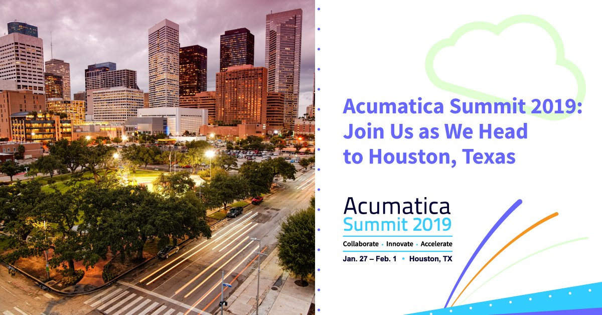 Acumatica Summit 2019 Day One Highlights - Main Insights, New